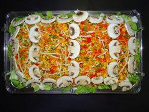 gemischte Salatplatte